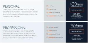 paket hosting wpengine