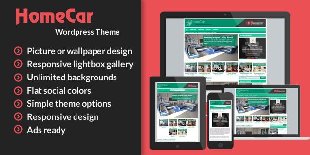 HomeCar WordPress Theme-IND-Themes
