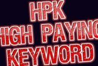HPK Keyword Blog Inggris Gratis