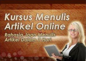 kursus menulis artikel online
