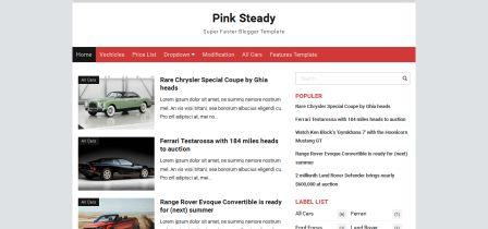 Free Template Blogspot - Loading SUPER CEPAT - Responsive