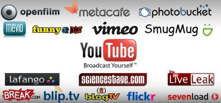 250 video sharing sites