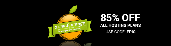 A small orange 85% Off all new plans
