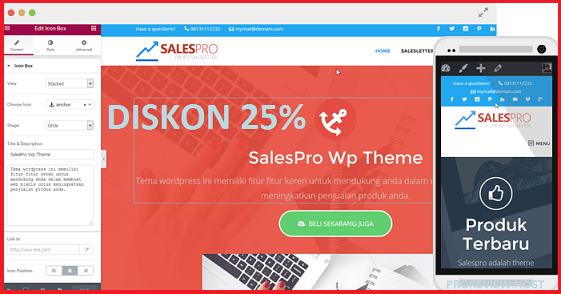 Salespro WordPress Theme