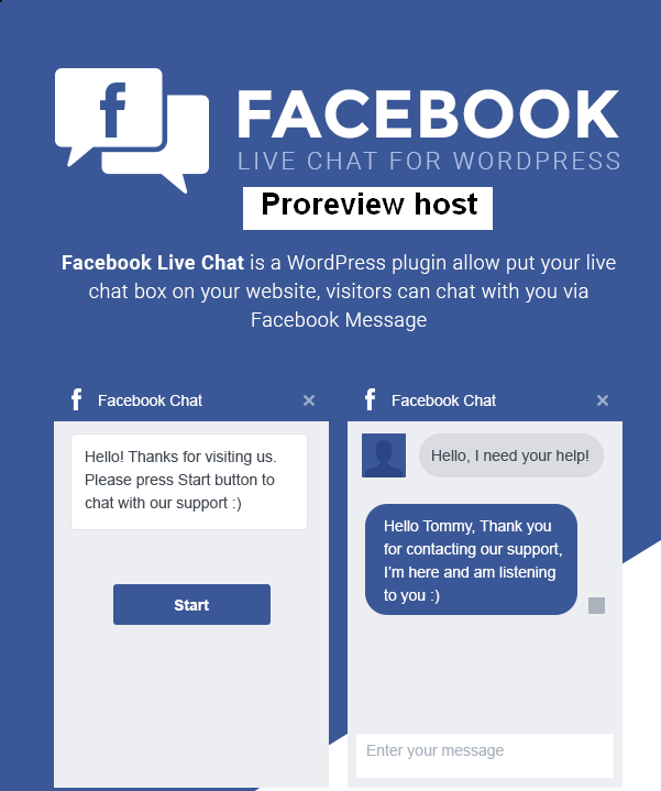 Wordpress Plugin Facebook Live Chat