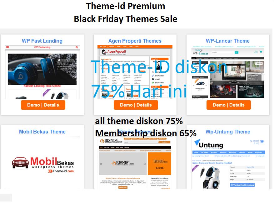 Theme id black friday sale diskon 75%