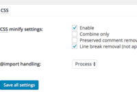 CSS setting