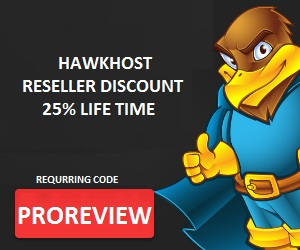 Kupon Reseler hosting Hawkhost 25% requrring