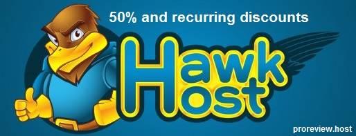 hawkhost promo code dicount 50% requrring 2016