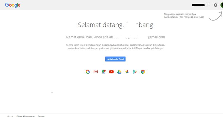 selamat datang di gmail baru daftar