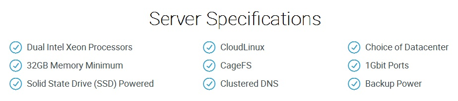 server spesification hawkhost reseller