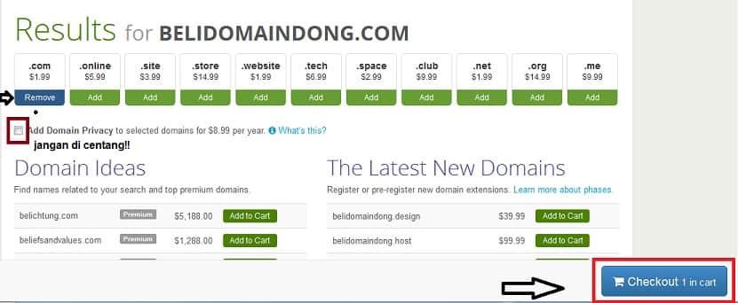 beli domain dong murah 1,99
