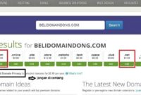 domain com net murah tersedia