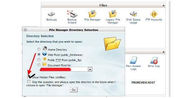 setting default .htaccess wordpress