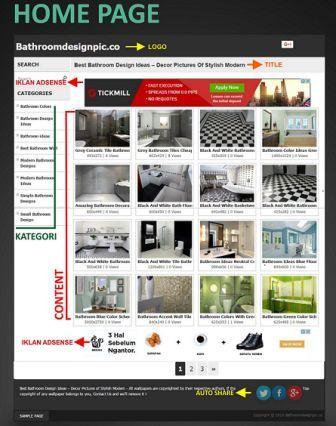 homepage kentoswall theme