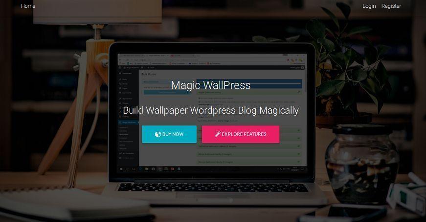 magic wallpress v4 home