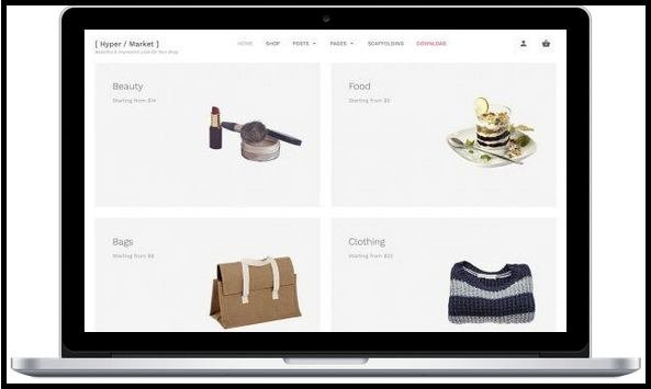 Hypermarket WordPress theme