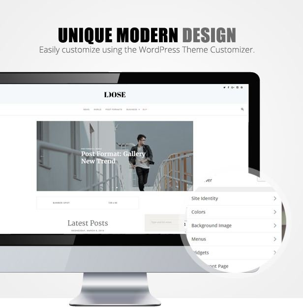 Loose Theme WordPress Responsive Gratis