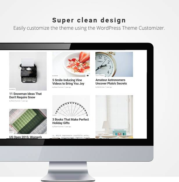 Pencil clean magazine wordPress theme free download