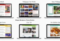 Silegan WordPress Themes Review Download