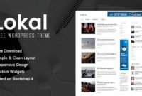 Free Lokal News Wordpress Theme