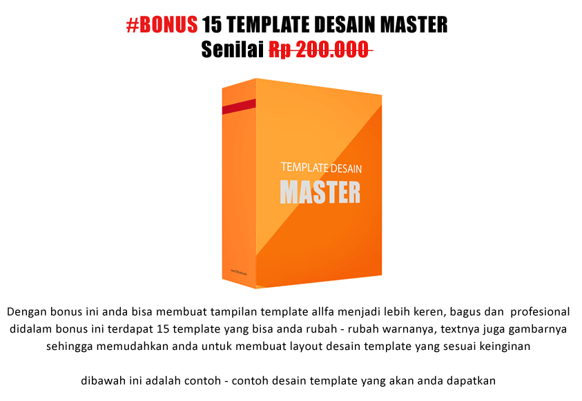 15 template desain master