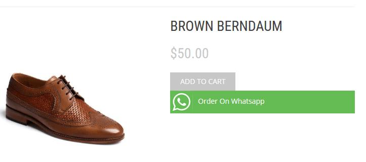 Woo whatsapp order demo