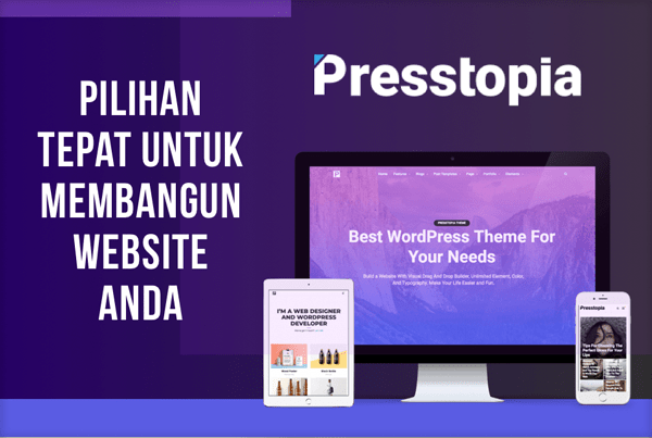 Presstopia wp theme