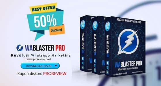 Beli WABlaster pro v4 bonus Line dan telegram blaster