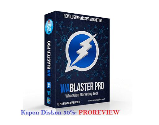 WABlasterPro V.4 Lebih Nendang Untuk Promosi Whatsapp Marketing