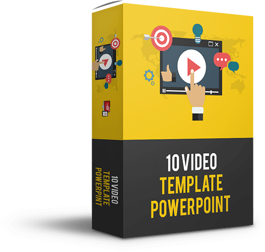 10 Video Template Power Point