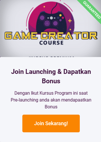 Daftar Game Creator Course-min