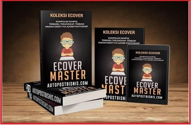 Ecover Master 12GB Desain Sampul Lengkap dan Terbaik