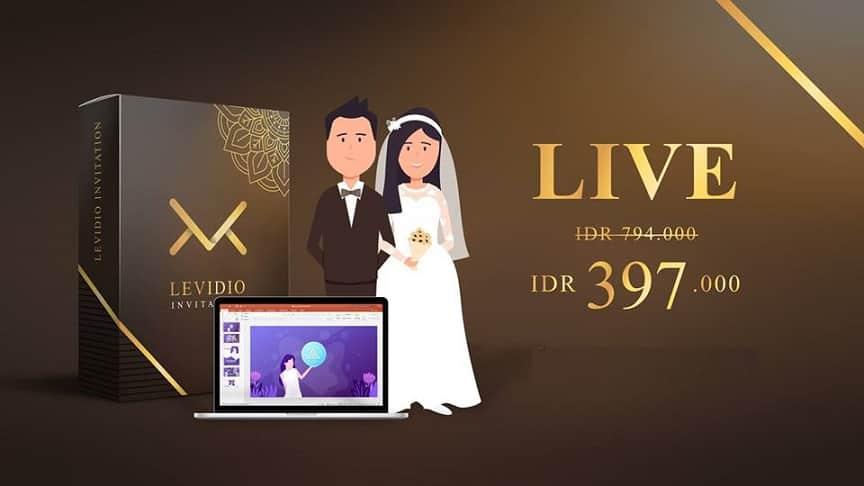 Levidio Invitation ID Review dan Bonus