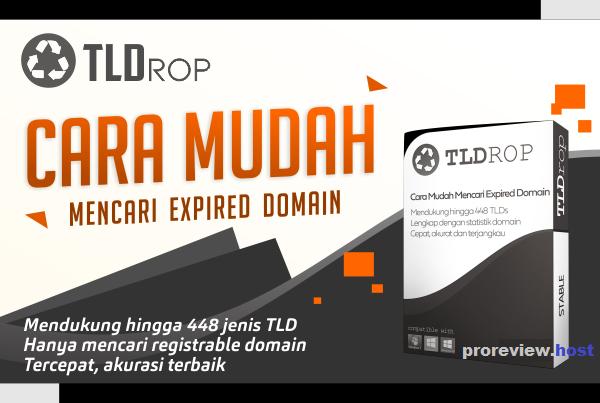 Cara Mudah Mencari Expired Domain TLDrop