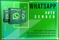 WA Auto Sender marketing gratis