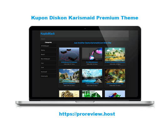 KOPLOBLACK WordPress Theme