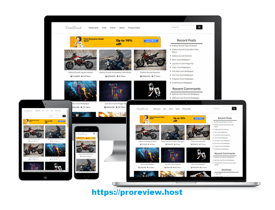 Putih Bersih WordPress Theme