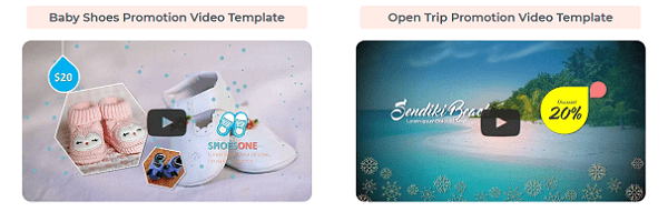 Baby Shoes Promotion Video Template