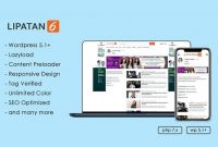 Lipatan 6 Wordpress themes news