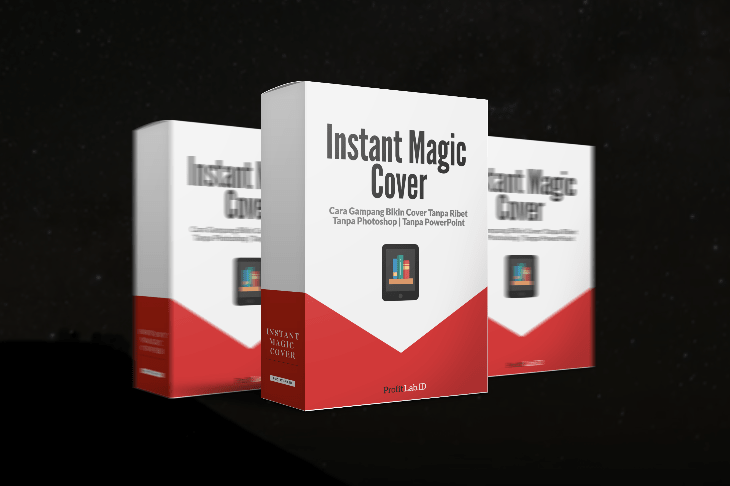 Instant Magic Cover Cara Instan Bikin Cover 3D Profesional