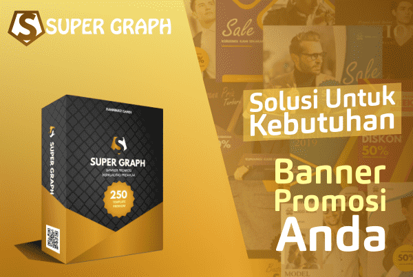 Super Graph Banner Promosi PowerPoint